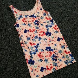 DONATING 5/1 - Target Pink and Blue Floral Cami